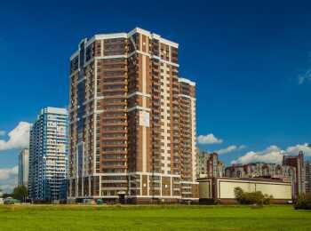 Монолитно-кирпичный 24-этажный жилой дом